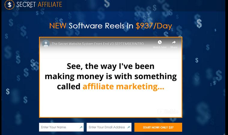 Secret-Affiliate-Website
